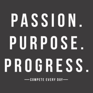 Passion Purpose Progress Taekwondo Martial Arts il Dan