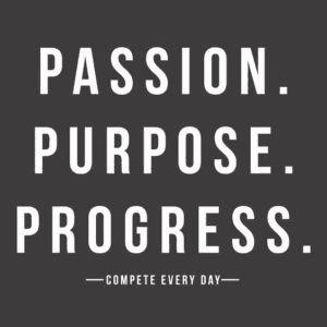 Passion Purpose Progress Taekwondo Martial Arts il Dan