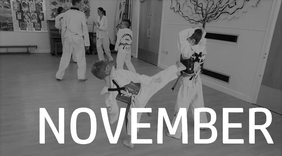 All Stars Taekwondo one 2 one Competition 25th November 2018